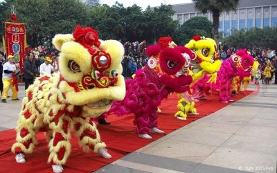 成都开业庆典、开张剪彩、舞龙舞狮子团队