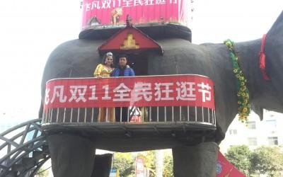 宜宾机械大象出租厂家 巡游大象租赁