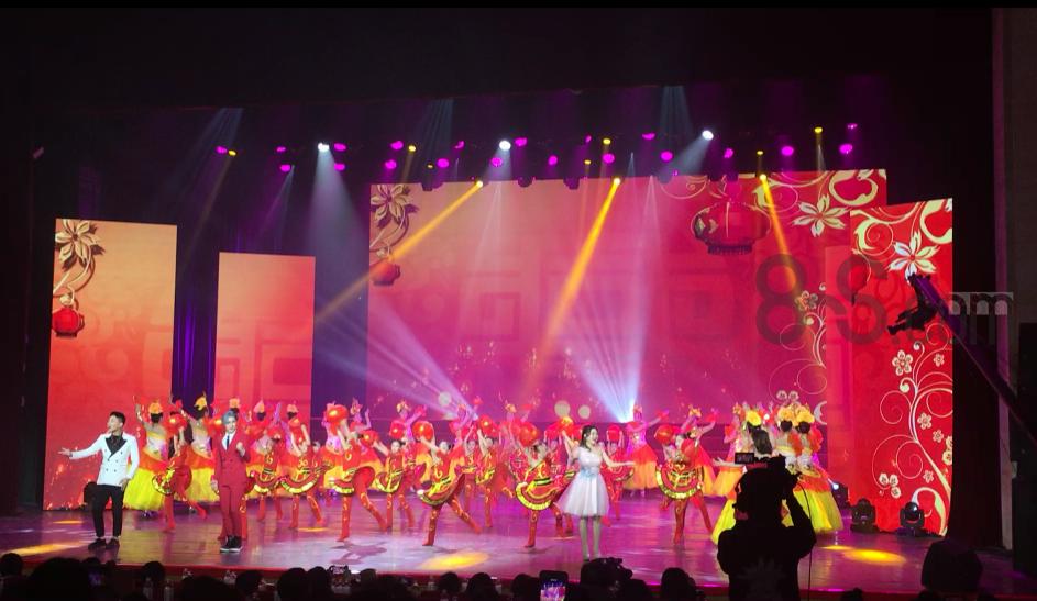 欢天喜地中国年舞台表演-开场舞-春节舞台